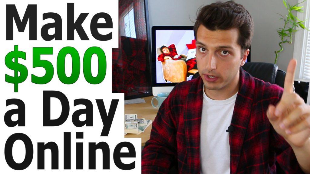 Make $500 a Day Online w/ Affiliate Marketing Basics