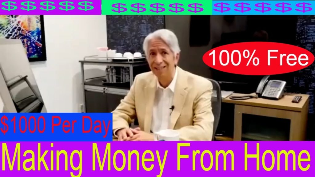 Making Money From Home – Work At Home Jobs No Experience Required $1000 Per Day