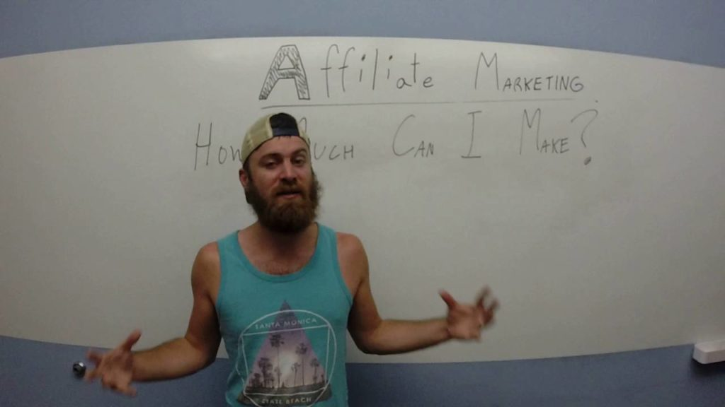 How much can I expect to make with affiliate marketing?