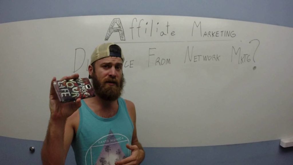 What's the difference between affiliate marketing and network marketing?