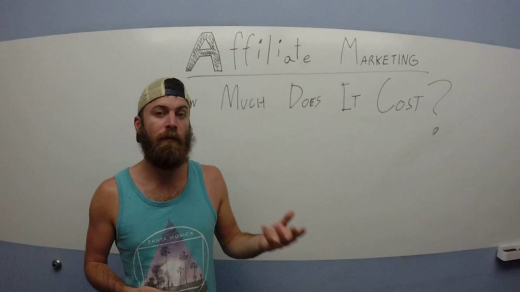 how much does affiliate marketing cost?