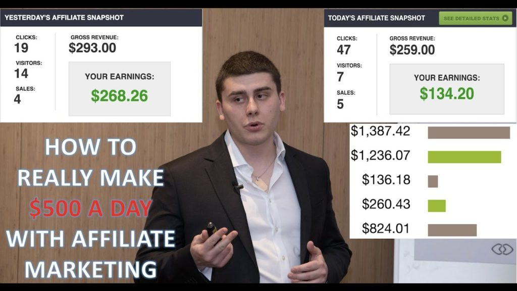 How To REALLY Make $500 A Day With Affiliate Marketing!