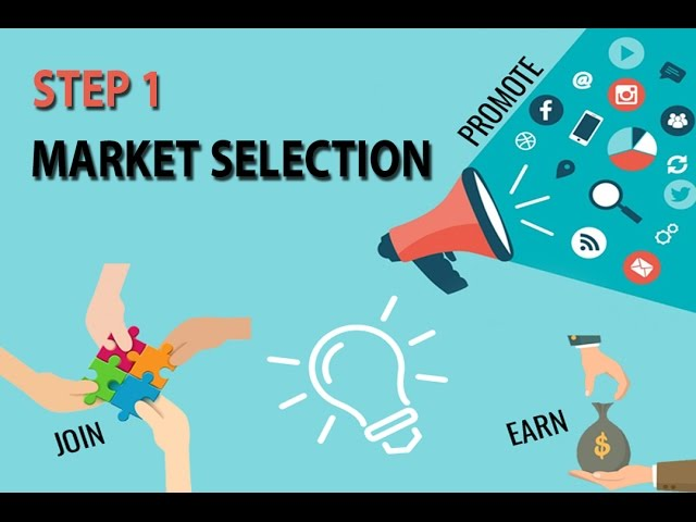 Affiliate Marketing Step By Step – Market Selection
