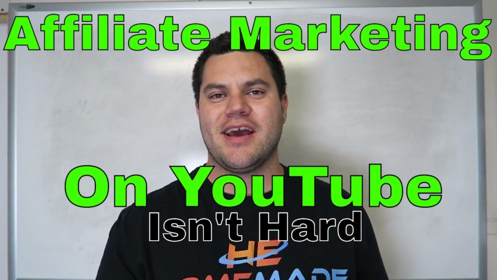 Affiliate Marketing On YouTube Isn't HARD – NO Investment NEEDED