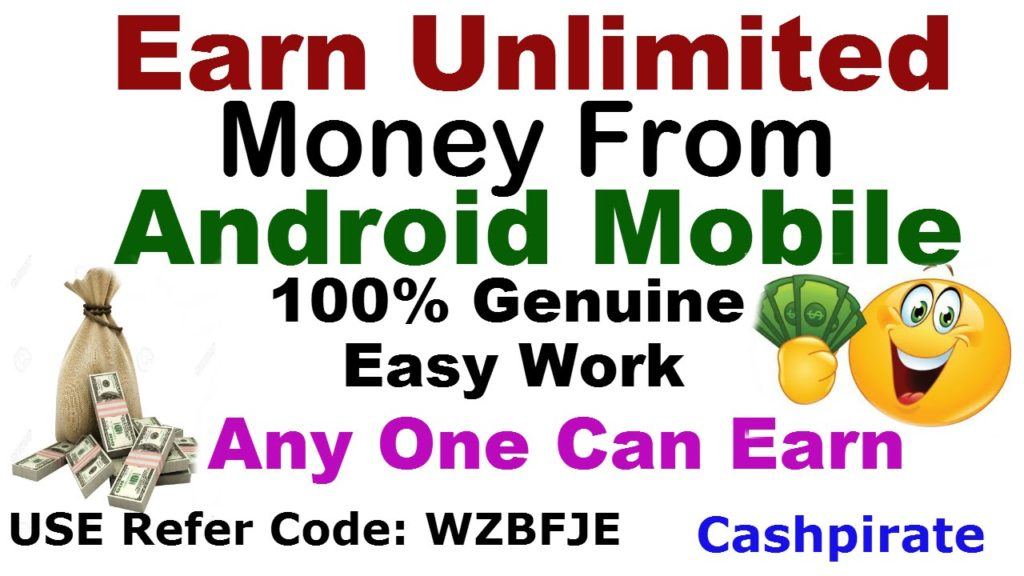 Earn Unlimited Money From Your Android Mobile | Easy & 100% Genuine Work (URDU | HINDI )
