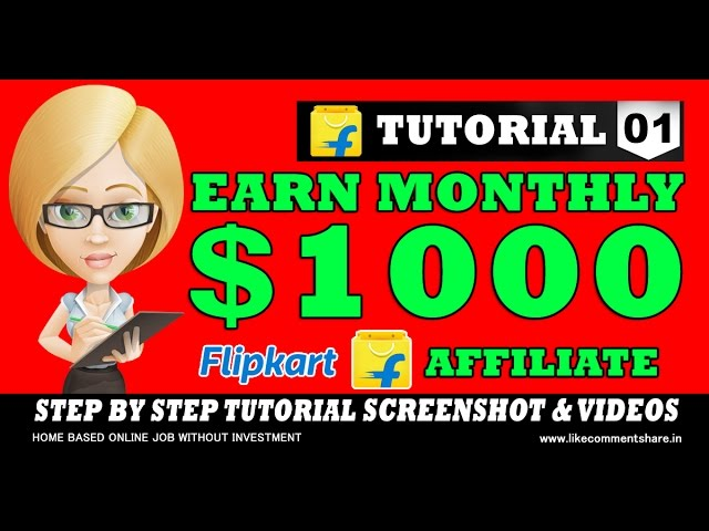 Earn Money Online with flipkart - Home Based Online Job