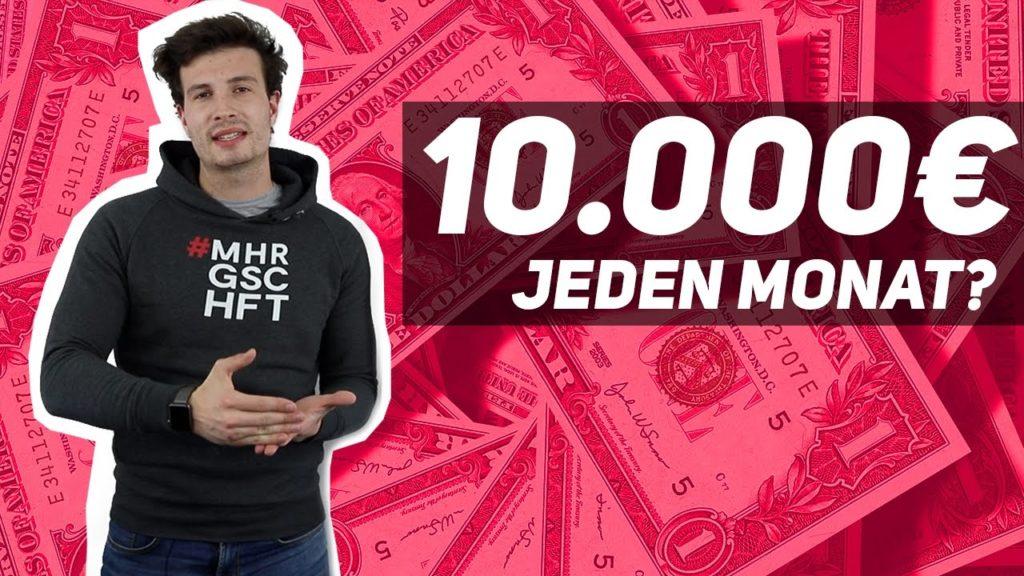 Passives Einkommen: 10.000€ + mit Online Marketing?