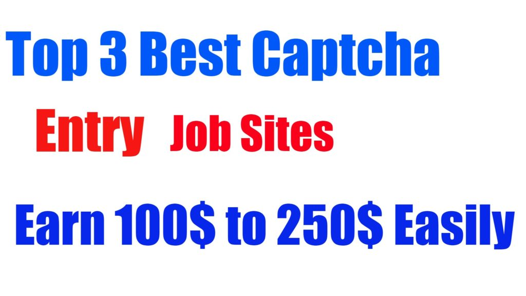 captcha entry work Archives - Make Money With Internet Based Business