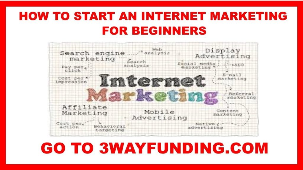 INTERNET MARKETING: HOW TO START AN INTERNET MARKETING BUSINESS