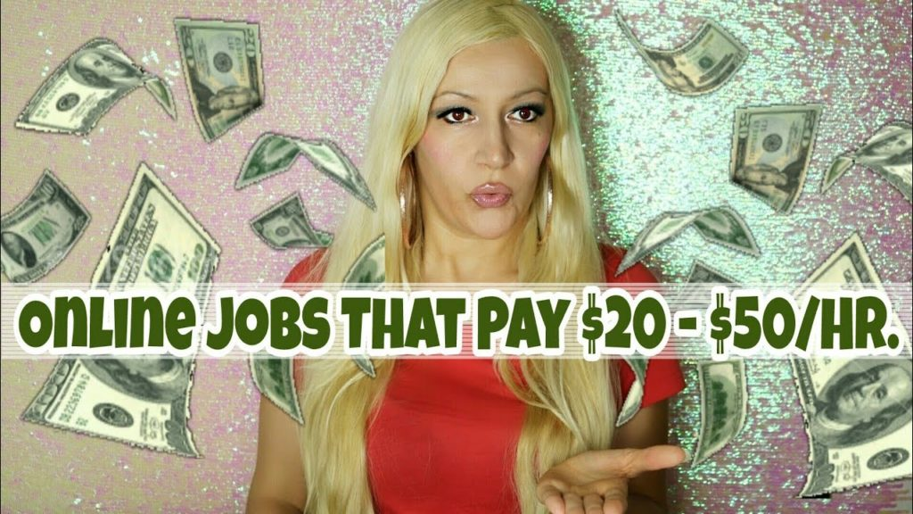 Online Jobs That Pay $20 – $50/Hr. | Top Work At Home Jobs Hiring Now With Highest Pay