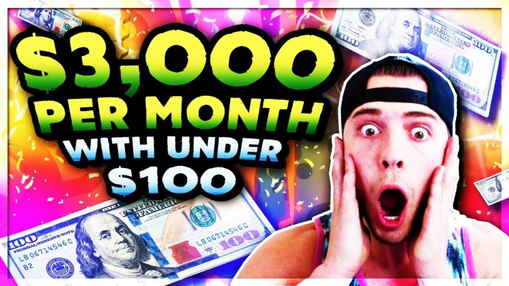 How To Make $3,000 A Month Online With Under $100 & No Skills In 2018