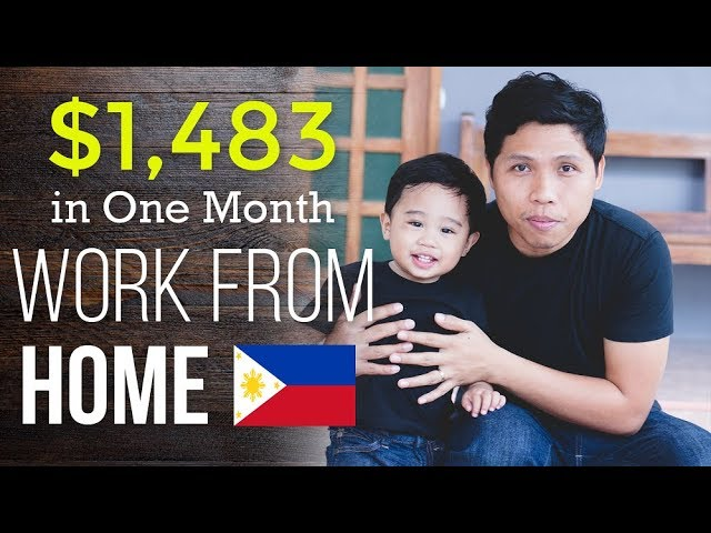 I Made $1,483 From My Online Jobs In The Philippines – Freelance Jobs Online Income Report
